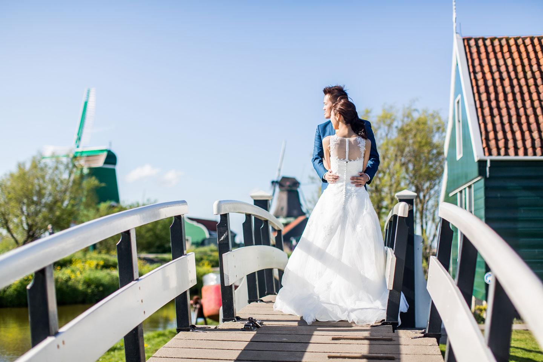 prewedding Zaanse Schans